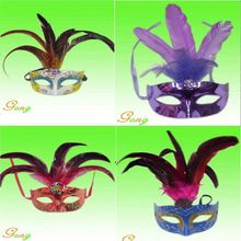 2015 Newest Ostrich Hair Series Masks For Party Decoration