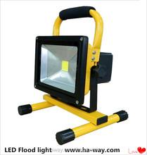 Epistar Chip 10W Rechargeable LED Flood Light 10W-50W 2 Years Warranty