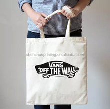 Hot product cotton shopping bag with roller