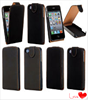 leather flip case for iphone 4 4s