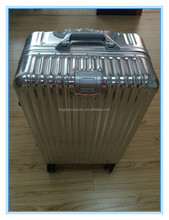 Aluminium Trolley Suitcases with Rotating Wheels