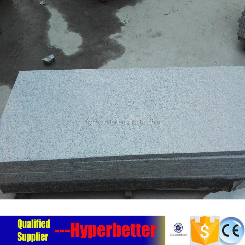 Bush Hammered G602 Grey Granite Tiles For Outside Flooring. - Buy ...