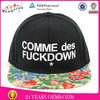 2013 fashion hip hop design popular flat brim hats wholesale for men