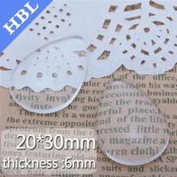 25*30mm Water drop shape Crystal Handmade Epoxy time gem glass Patch Sticker Beads Jewelry Accessory wholesale 50pcs/lot
