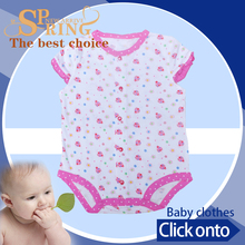 Competitive price cotton print baby dress pictures