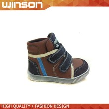 2015 latest design anti slip fashion casual shoes,mid cut kids shoes for boys