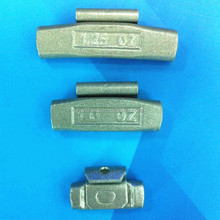 Fe clip on wheel balance weight for steel rim
