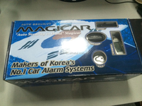English version Magicar M903Ftwo way car alarm with LCD remote engine starter two way car alarm
