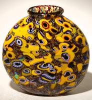 Low price murano glass import glass vase