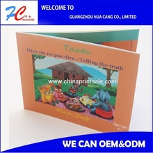Perfect Custom coloring children soft cover books printing with best quality