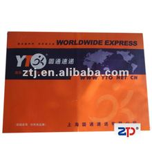 Good quality UPS board customized recycled cardboard rigid mailing envelope