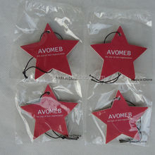 customized paper air freshener, promotional paper air freshener for home