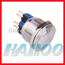 momentánea metálico de inserción pulsador 22mm