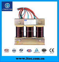 three phase low voltage reactor for Capacitors in PFC