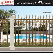 outdoor gates and steel fence design palisade fence model fence