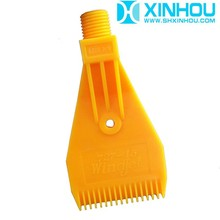 PP material drying and cleaning ABS windjet nozzle