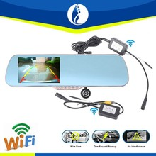 5.0 inch wifi wireless full hd 1080p car camera dvr video recorder gps navigation