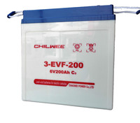 Lead Acid Battery for electric car, tricycle, golf cart, 6V 200Ah