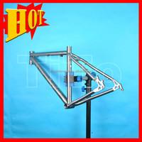 2015 Wholesale titanium road bike frame For full suspension