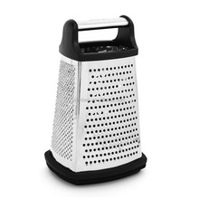 four sides fine coarse ribbon upright cheese carrot grater with container