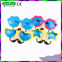 Plastic Lips Star Shapes Crazy 2015 Party Funny Glasses
