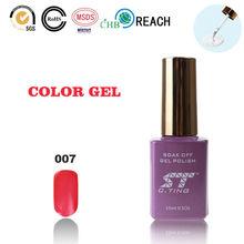 2015 Vermillion Beautiful color nail polish clean color nail polishes for nails