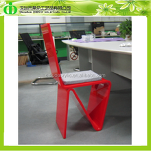 DDH-0013 Red Acrylic Furniture Table Chair,Acrylic Desk Chair