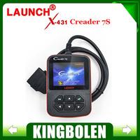 2015 New Arrival Original Launch X431 Creader VII Plus Code Reader +Oil Reset Function Creader 7S Update Via Official Website