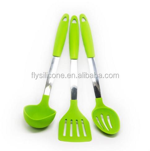 Composition Of 4 Kitchen Utensils : China Manufacturer FDA Standard Heat Resistant Kitchen Utensils