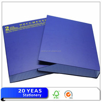 OEM and ODM A3/A4/A5/A6/FC/Letter size paper 2 ring binders document folder