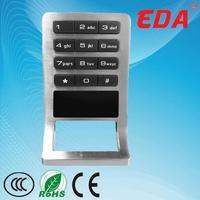 Good quality keypad plastic combination lock box for cabinet,locker
