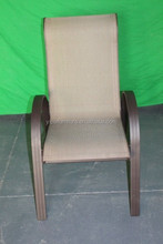 cover fabric bentwood chair seat outdoor sling reclining chair YC088