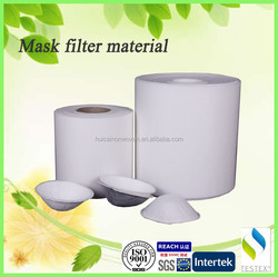 activated carbon gas filter mask/ Non woven felt filter mask felt in roll package