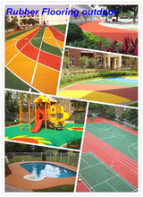 Rubber Flooring Outdoor, Manufacture Rubber -FN-D150424