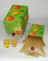 BIB Water Bag, Juice Bag in Box with spout tap