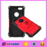 Wholesale Cheap strong hybrid tpu+pc leather phone case for iphone 5