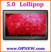 10 inch Quad Core Rockchip RK3128 Android 5.0 Lollipop Tablet computer 64GB Bluetooth connect TV wifi 3G