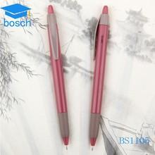 Cheap logo OEM metal pen can do plastic pen