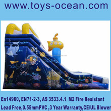 new design space world inflatable slide ,inflatable space slide for kids ,inflatable sliding game for sale