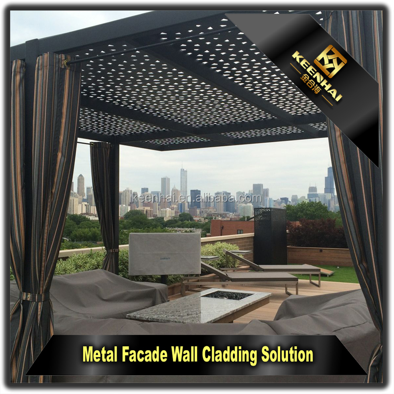 laser en plein air coupe sculpt d coratif en aluminium. Black Bedroom Furniture Sets. Home Design Ideas
