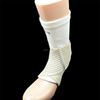 Streched elastic ankle support with bandage