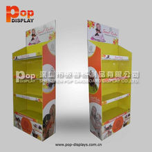 cardboard display stand for bathroom accessories