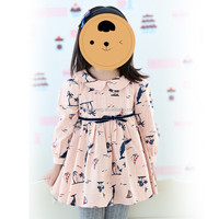 80259 hot new products for 2015! latest children dress designs persnickety neck designs cotton dresses