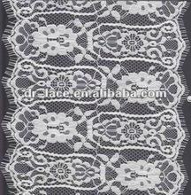 Nylon eyelash lace