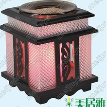 Factory outlet Wholesale Scented wooden oil burner aroma lamps incense burner Chinese incense M0084