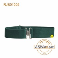 Akmax Military Iron Buckle Olive Web Belt Army Tactical Belt Police gears