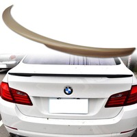 PAINTED with primer ABS spoiler FOR BMW 5 Series F10(2011-2014) Performance Trunk Spoiler ABS