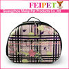 New products 2015 dog and cat fashion design pet carrier for travelling import pet animal products from china