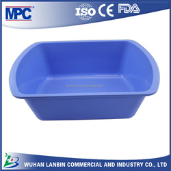medical large square plastic sealed container