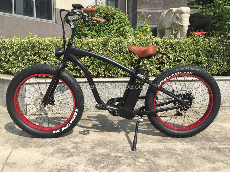 Fat Electric Beach Cruiser Bicycle For Sale